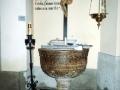 Pila Bautismal Parroquia Santo Tomé (Dónde fue bautizado D. José)