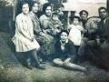Familia Rivera Ramirez. Jardín de la Casa.