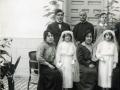 1ª Comunión de Carmelina (Hermana de D. José) y Mari de Pablos (Prima de D. José)