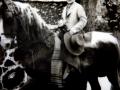 D. José montando a caballo