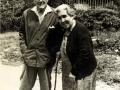 Los padres de D. José. Verano de 1960 en el convento carmelita de Donamaría (Navarra). Dónde estaba Carmelina
