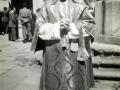 Seminario de Salamanca (1948-1953)20-10-1952. Ordenado Diácono Foto con dedicatoria a su madrina, Carmelina